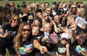 Vibez Danceworks selfie in the sunshine